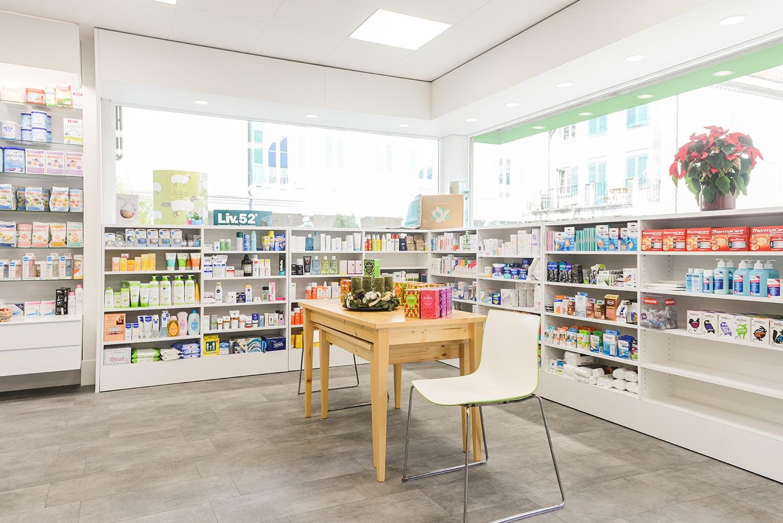 Intérieur de la Pharmacie Saint-Roch